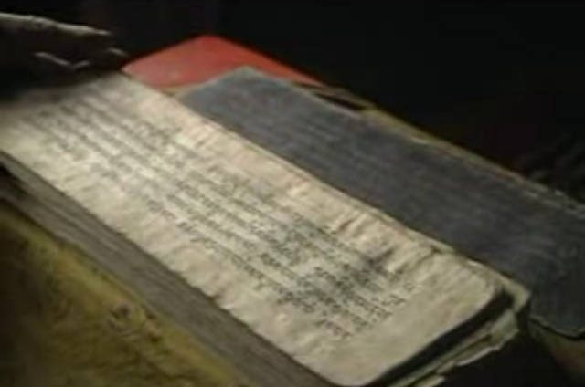image of original Tibetan Book of the Dead: records.photodharma.net