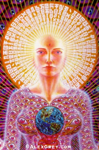 image: the incomparable Alex Grey